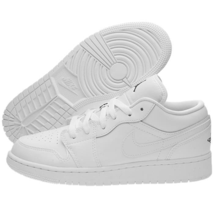 chaussures de sport 17bce 4da3b nike air blanc basse
