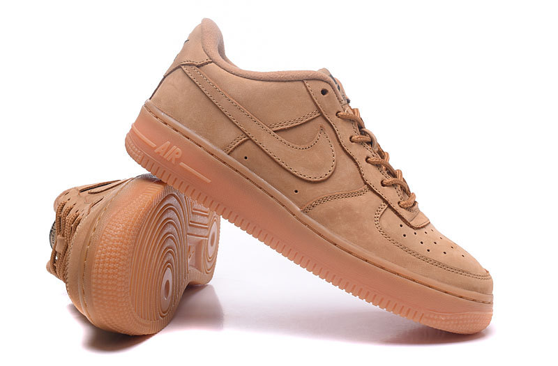 nike homme chaussures air force 1 marron